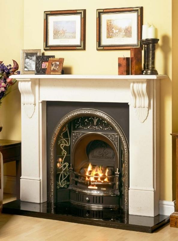 Victorian Corbel Mantel | Edwardian Fireplaces