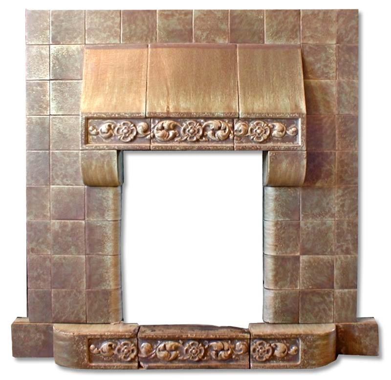 Edwardian fireplace insert