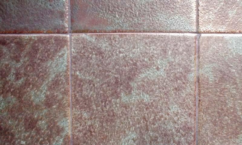 Edwardian fireplace tile detail