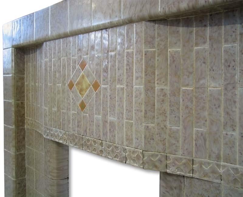 Edwardian fireplace frieze