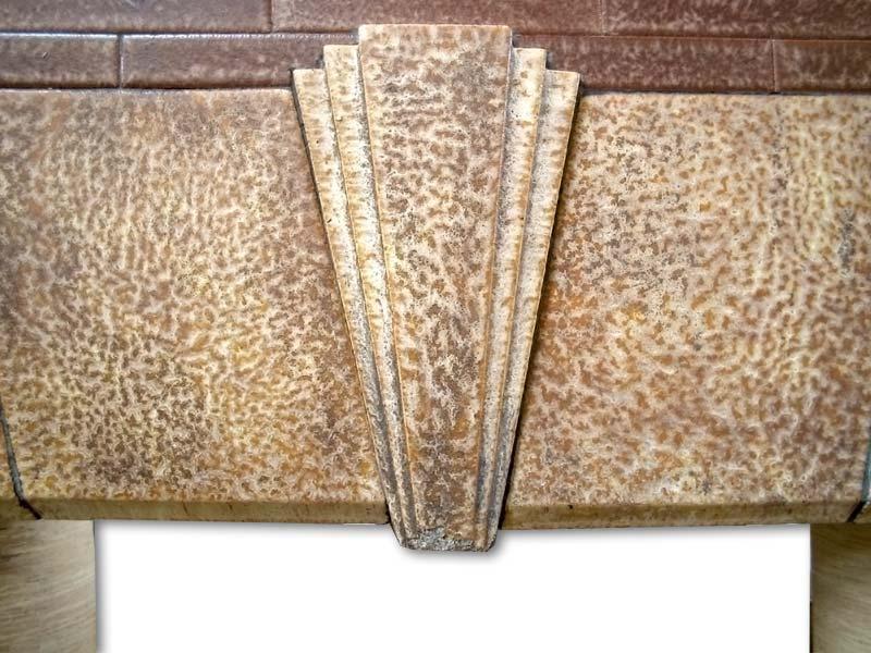 Edwardian Fireplace frieze detail