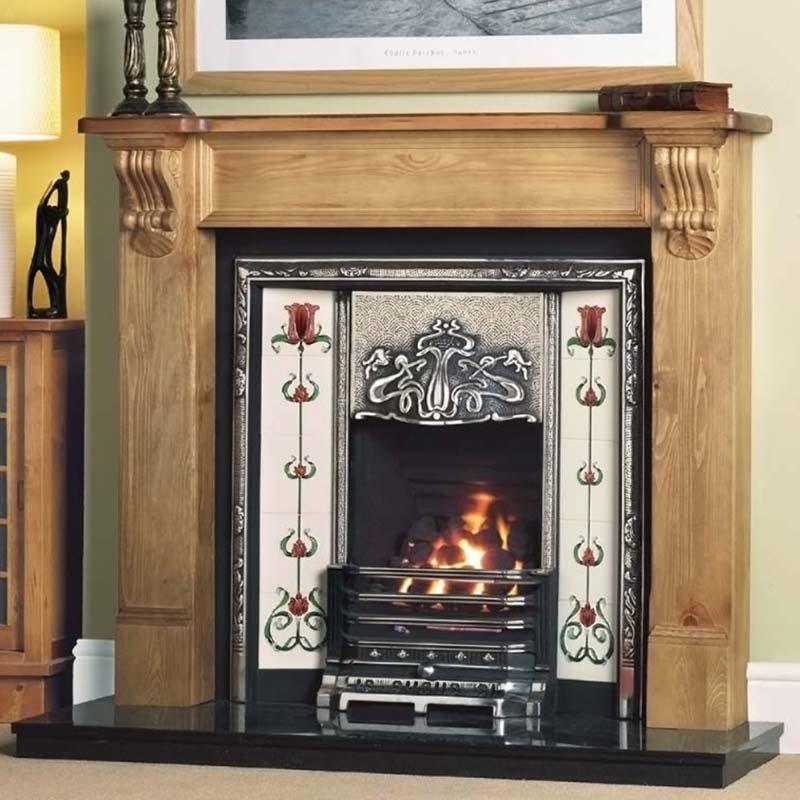 oxford cast iron fireplace insert edwardian fireplaces