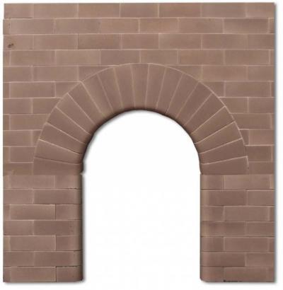 Edwardian Arch Fireplace Insert