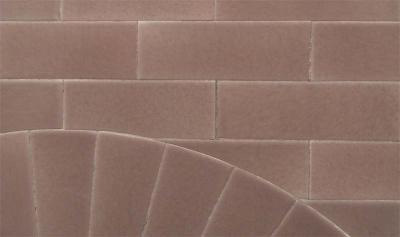 Edwardian Arch Fireplace tile detail