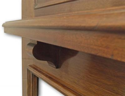 Edwardian Mantel shelf detail