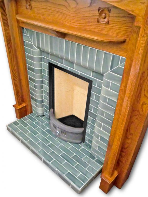 Granville Fireplace Insert high angle